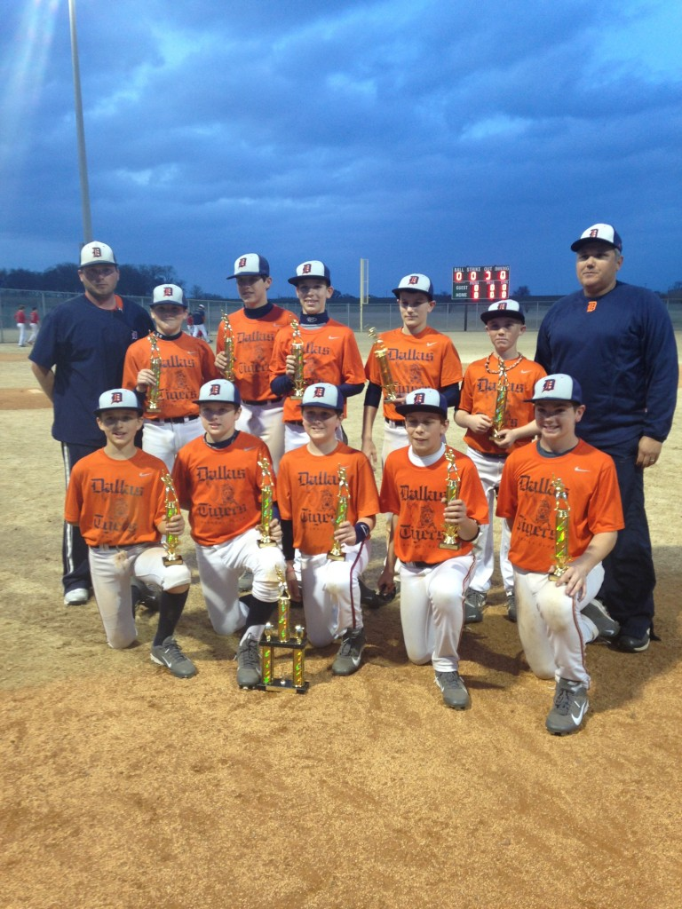 Dallas Tigers Kyle Woods 12U