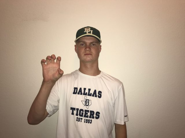 Sean Bolin Baylor Baseball